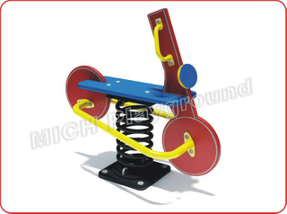Bicycle Animated Outdoor Spring Rocking Horse