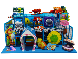 Ocean Themed Toddlers Indoor Playground Equipment for Sale