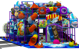 Free Customized Design Indoor Kids Park Equipment for Sale
