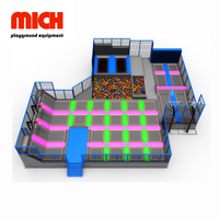 MICH Commercial Indoor High Performance Trampoline Park Equipment