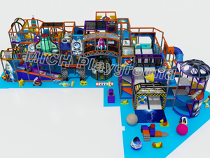 Commercial Kids Indoor Playground Equipment for Sale