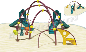 Kids Outdoor Climbing Frame with Slide