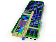 MICH Indoor Trampoline Park Design for Amusement 5116A