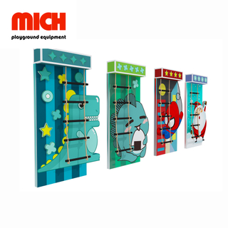 Kids Indoor Soft Climbing Wall Playground Equipment