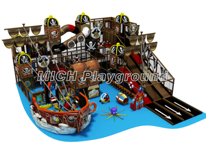 Pirate Ship Themed Indoor Playground Equipment Supplier