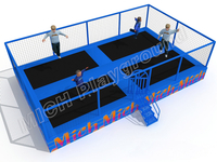 MICH Indoor Trampoline Park Design for Amusement 3066A