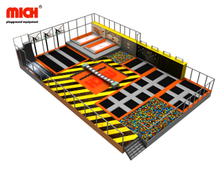 Custom 400sqm Indoor Trampoline Park