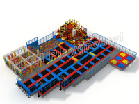 customized indoor bounce trampoline park 7120A