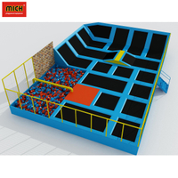 Professional trampoline park indoor jumping bed for sale