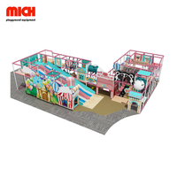 Candy Color Commercial Kids Soft Indoor Playground