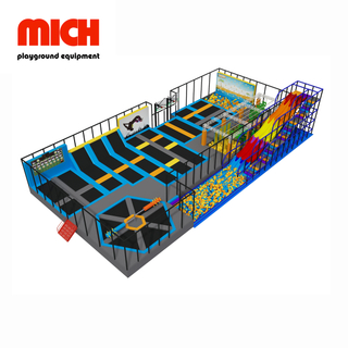 Various Games Commercial Indoor Trampoline Park