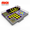 Commercial Indoor Bounce Trampoline Park Wipe Out Jumping Equipment