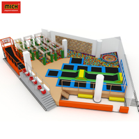 Hot Sale Cheap Big Gymnastic Trampolines Park