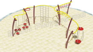 Outdoor Playset for Kids Adults