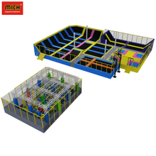 China hot sale kids trampoline amusement equipment park