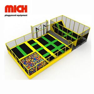 Indoor Kids Adults Trampoline Park for Sale