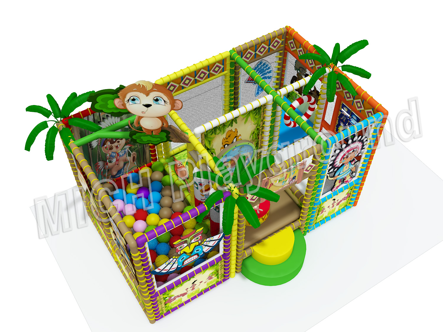 Kids Amusement Soft Indoor Playground 6609A