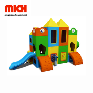 Manufacture Eco-friendly Plastic Indoor Playground for Kids