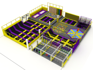 Kids trampoline amusement indoor park