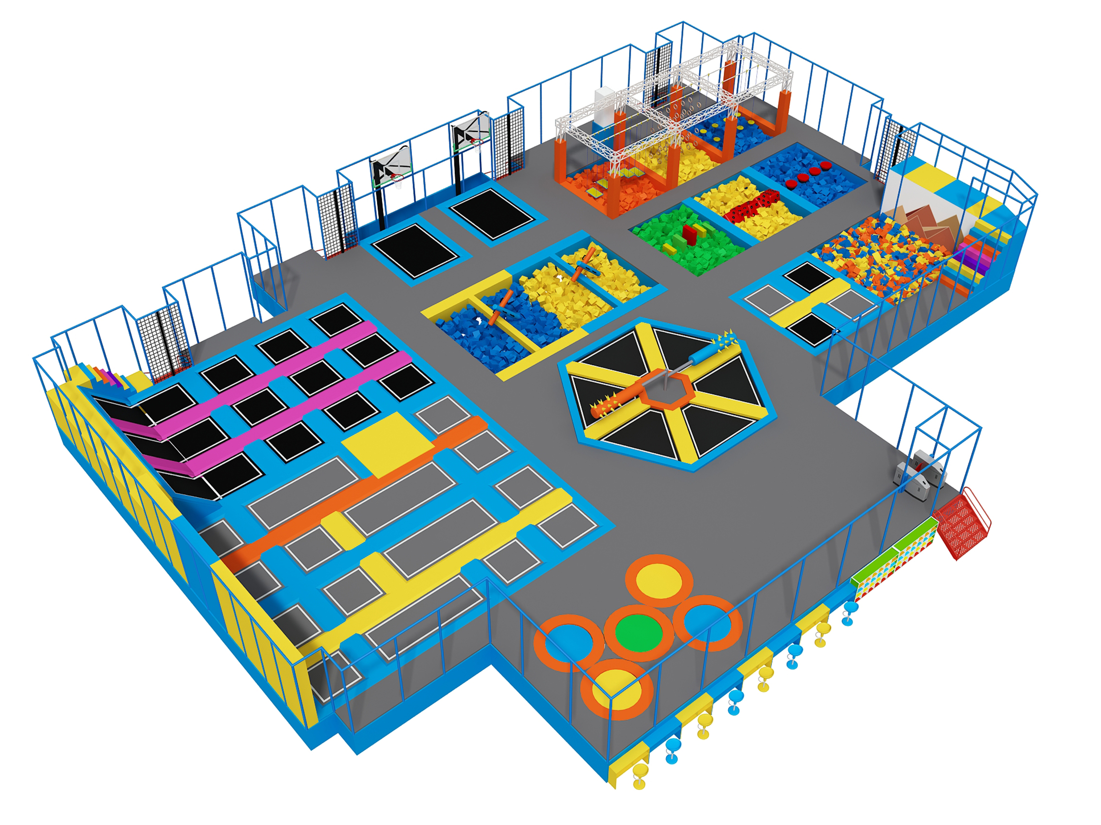 Different Types of Trampoline Park
