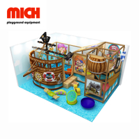 Mini Pirate Theme Indoor Soft Playground for Kids