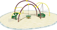 Kids Climbing Children Playground Equipment 1111B
