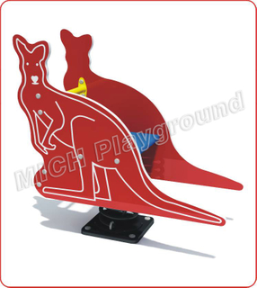 Kangaroo Animated Outdoor Spring Rocking Horse