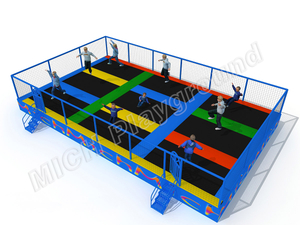MICH Custom Indoor Trampoline Park for Adults Kids
