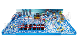 Super Sized Indoor Ball Pit Kids Soft Play Centre