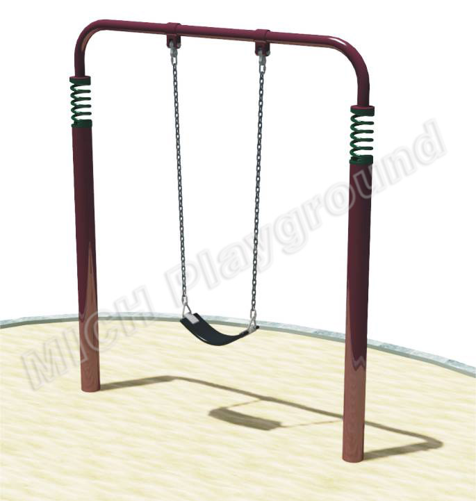Outdoor playground baby swing 1113D