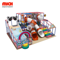 Mini Kids Soft Indoor Playground with Big Slide