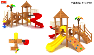 MICH Wooden Outdoor Playground Equipment