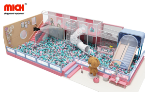 Mich Indoor Ball Pit House for Big Kids