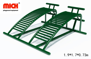 Galvanized Outdoor Sit-ups Fitness Equipment for Sale