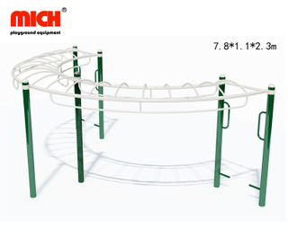 Outdoor Fitness Equipment with Parallel Bars Horizontal Ladder