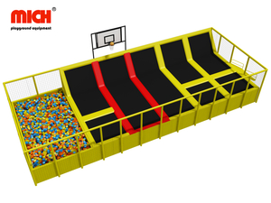 ASTM Certificated Indoor Trampoline Park for Sale