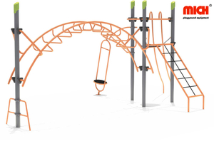 Mich Outdoor Climbing Frame with Monkey Bars