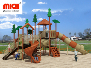 Kids Outdoor Playground Equipment Manufacture