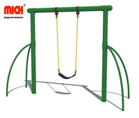 Outdoor Playground Kids Single Sit Swing Set for Sale