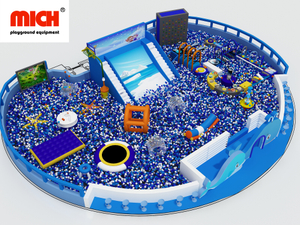 Indoor Large Kids Soft Ball Pit Pool Zone