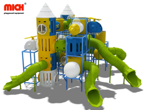 Mich Kids Indoor And Outdoor Plastic Playground for Preschool Kindergarten Garden Mall