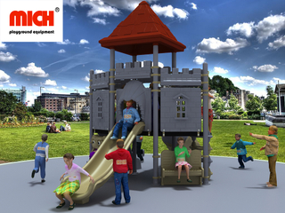 MICH Castle Themed Kids Outdoor Playground