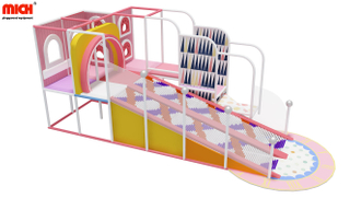 Custom Indoor Roller/ Donut Slides Playground