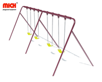 Outdoor Playground Four Sits Baby Swing Set for Sale