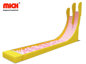 Indoor High Speed Stimulate 2 Lanes Slide for Kids And Adults