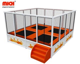 Small Indoor Exercise Trampoline with Net for Sale
