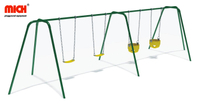 Playground Equipment Outdoor Kids Four Sits Swing Set for Sale