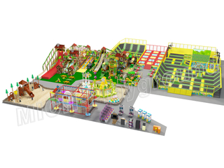 EN1176 ASTM Certficated Toddler Indoor Play Area