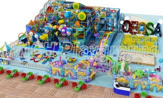 EN1176 ASTM Certificated Indoor Playhouse