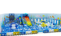 Hot Sale Indoor Amusement Soft Playground for Children 6650A